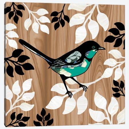 Bird Patchwork II Canvas Print #13312} by Erin Clark Canvas Wall Art