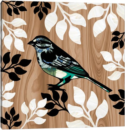Bird Patchwork I Canvas Art Print
