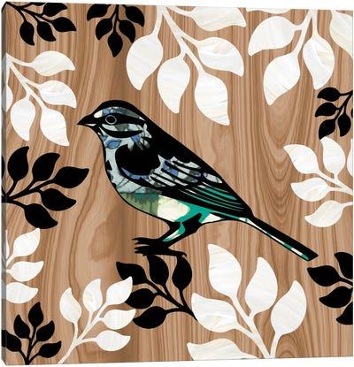 Bird Patchwork I Canvas Print #13313