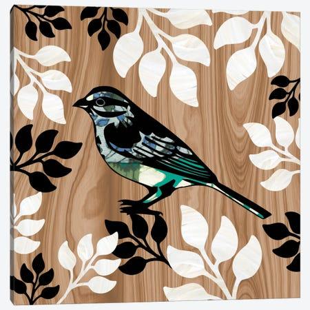 Bird Patchwork I Canvas Print #13313} by Erin Clark Canvas Wall Art