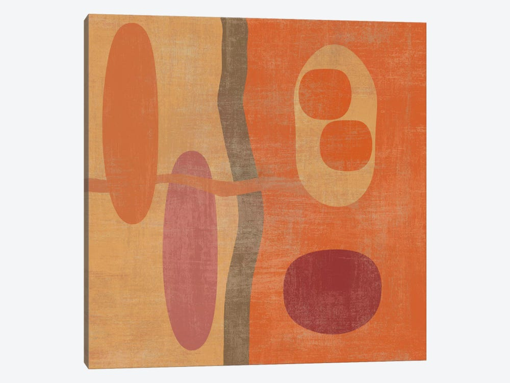 Abstract IV by Erin Clark 1-piece Canvas Art Print