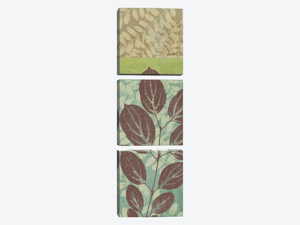 Leaves I by Erin Clark 3-piece Canvas Art