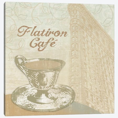 Flatiron Cafe Canvas Print #13323} by Erin Clark Art Print