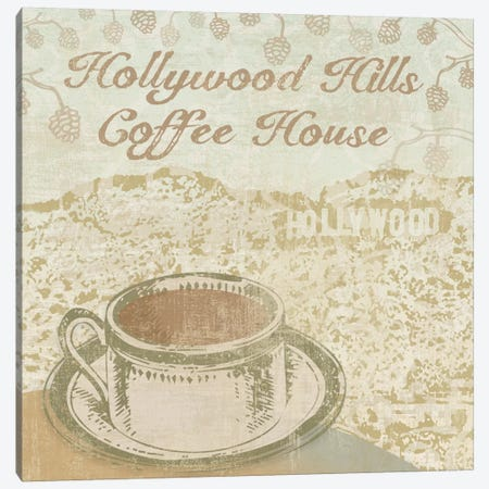 Hollywood Coffee House Canvas Print #13328} by Erin Clark Canvas Print