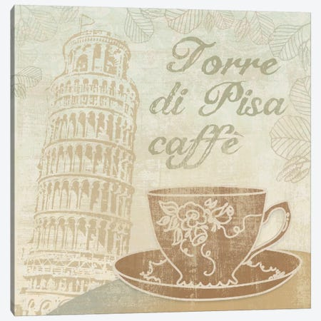 Caffe Pisa Canvas Print #13329} by Erin Clark Canvas Print