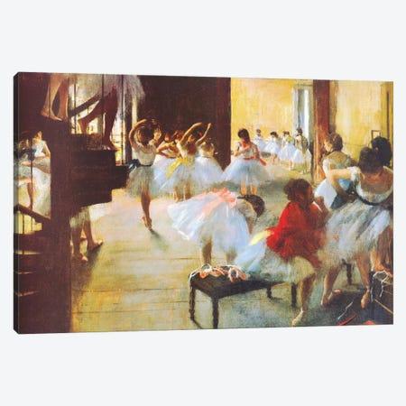 Ecole De Danse (Dance School) Canvas Print #1332} by Edgar Degas Canvas Art