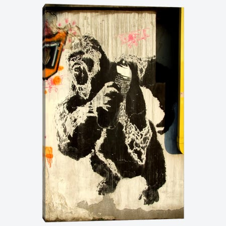 Kongs New Weapon Graffiti Canvas Print #13355} by Unknown Artist Art Print