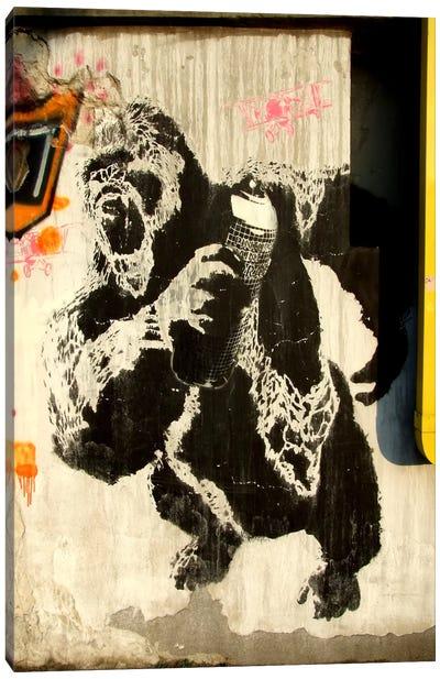 Kongs New Weapon Graffiti Canvas Print #13355