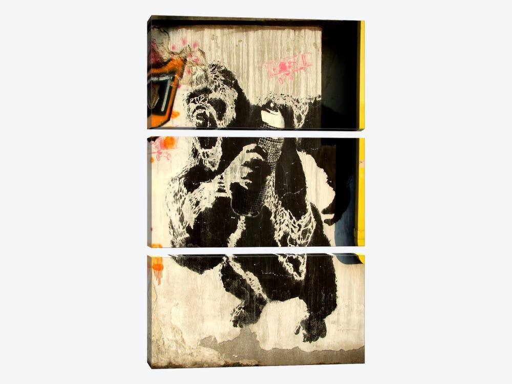 Kongs New Weapon Graffiti by Unknown Artist 3-piece Canvas Artwork