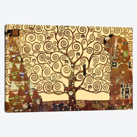 The Tree of Life Canvas Print #1335} by Gustav Klimt Art Print
