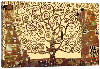 The Tree of Life by Gustav Klimt Canvas Art Print