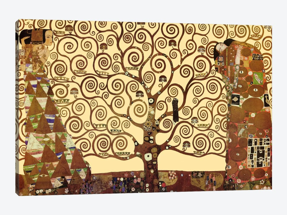 Tree Canvas Wall Art the tree of life canvas wall artgustav klimt | icanvas