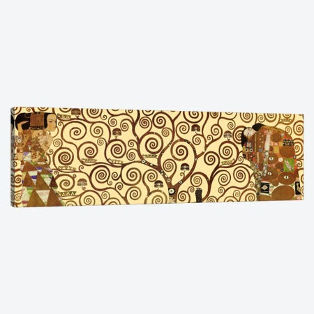 The Tree of Life Canvas Print #1335PANa} by Gustav Klimt Art Print