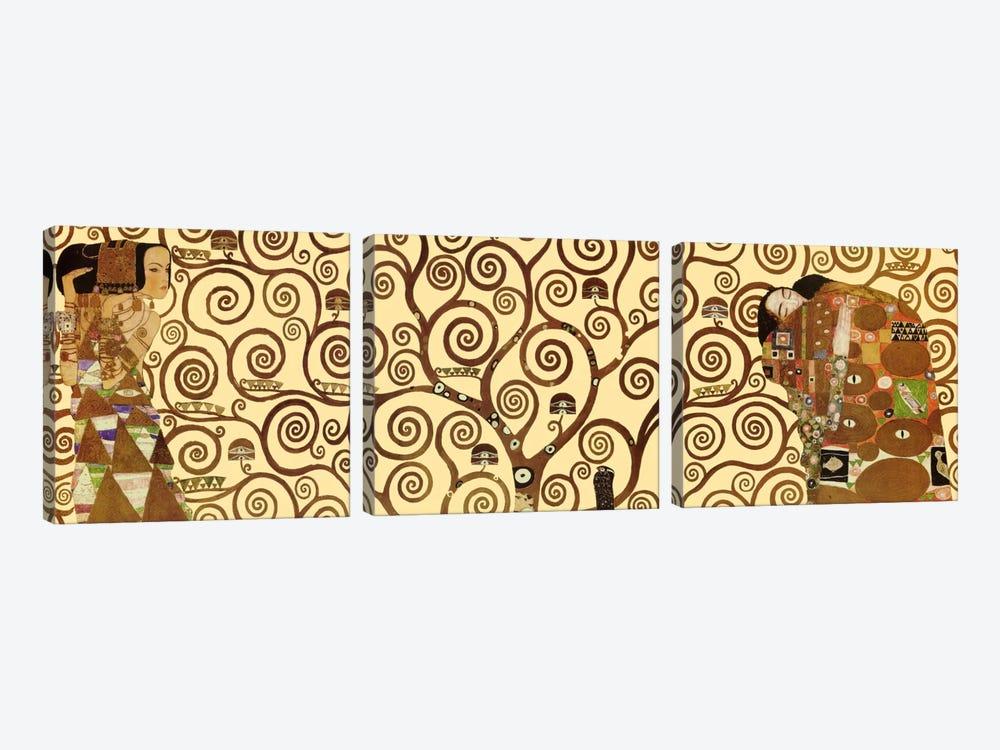 The Tree of Life by Gustav Klimt 3-piece Canvas Wall Art