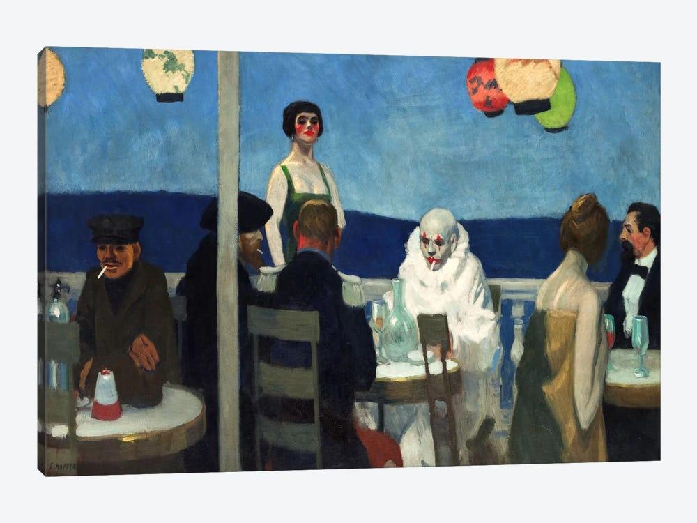 Soir Bleu by Edward Hopper 1-piece Canvas Artwork