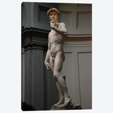 David Canvas Print #1337} by Michelangelo Canvas Art Print