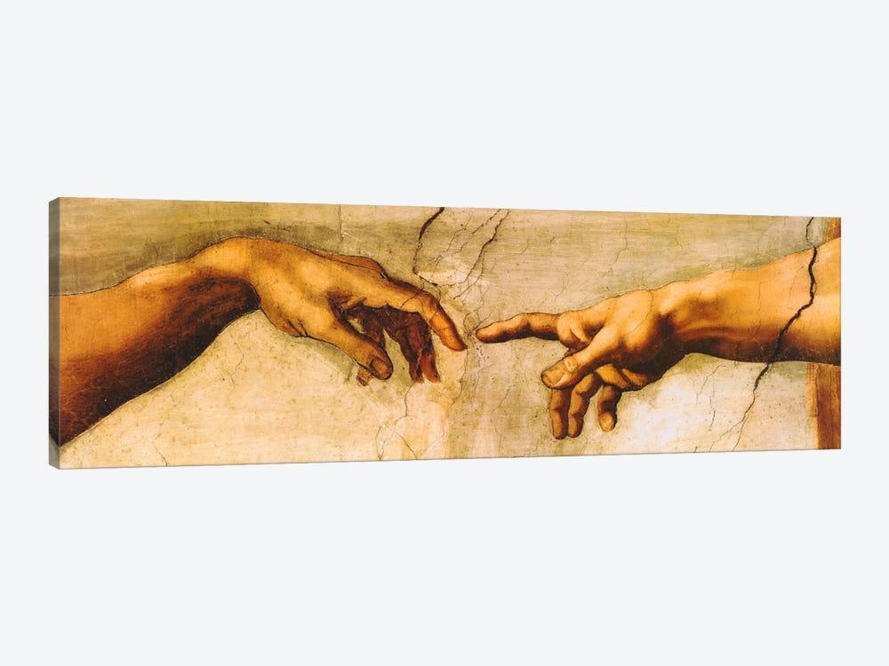 The Creation of Adam by Michelangelo 1-piece Canvas Art