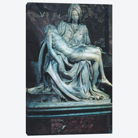 Pieta Canvas Print #1339} by Michelangelo Canvas Art