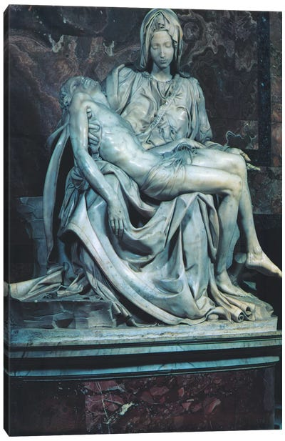 Pieta Canvas Art Print