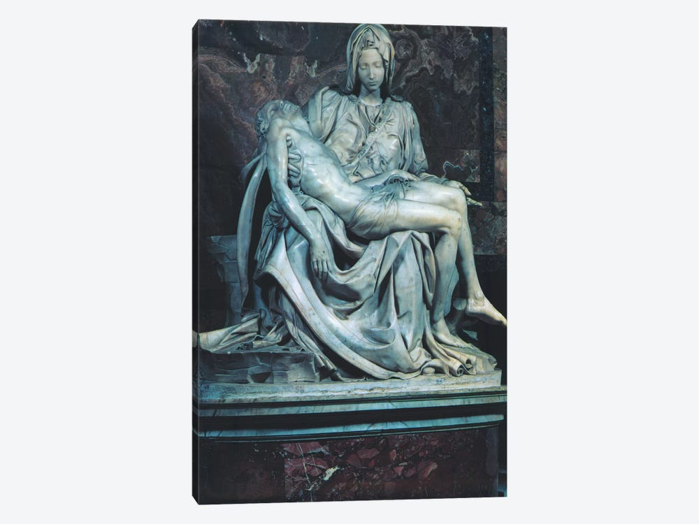 Pieta by Michelangelo 1-piece Canvas Artwork