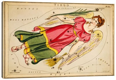 Virgo, 1825 Canvas Art Print