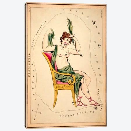 Cassiopeia, 1825 Canvas Print #13420} by Sidney Hall Canvas Artwork