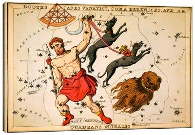 Boots, Canes Venatici, Coma Berenices, and Quadrans Muralis Canvas Art Print