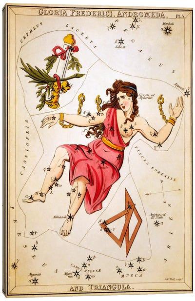 Gloria Frederici, Andromeda, and Triangula Canvas Art Print