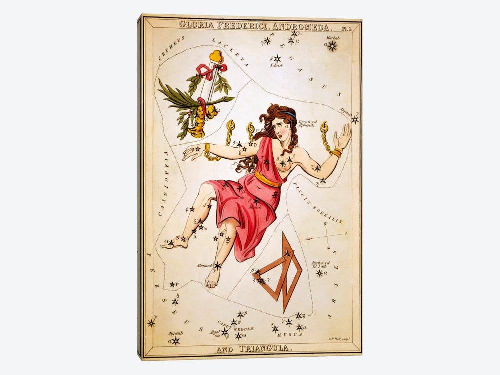 Gloria Frederici, Andromeda, and Triangula by Sidney Hall 1-piece Art Print