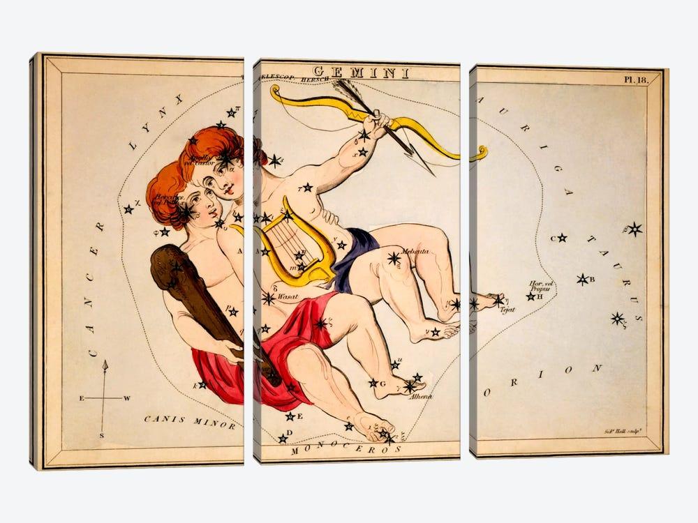 Gemini by Sidney Hall 3-piece Canvas Artwork