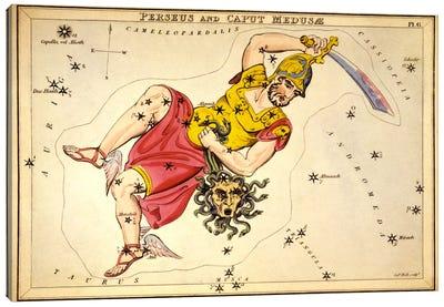 Perseus and Caput Medusae Canvas Art Print