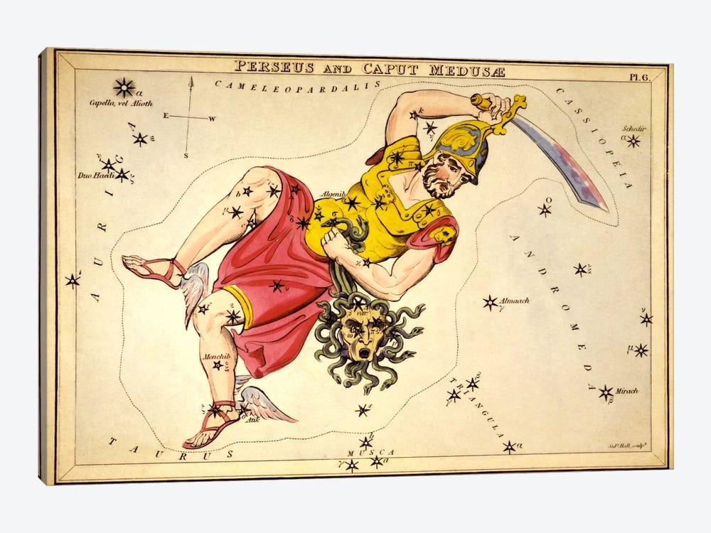Perseus and Caput Medusae by Sidney Hall 1-piece Canvas Artwork