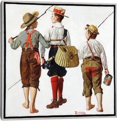 The Fishing Trip Canvas Art Print