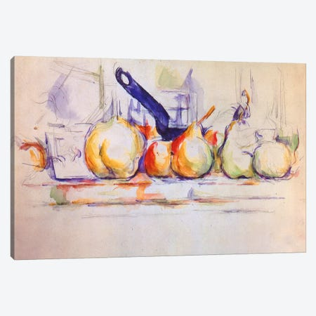 Still Life with Saucepan, 1902 Canvas Print #1345} by Paul Cezanne Canvas Art