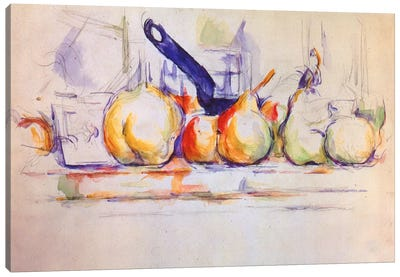 Still Life with Saucepan, 1902 Canvas Art Print