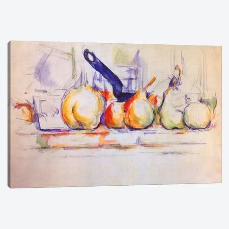 Still Life with Saucepan, 1902 Canvas Print #1345} by Paul Cezanne Canvas Art