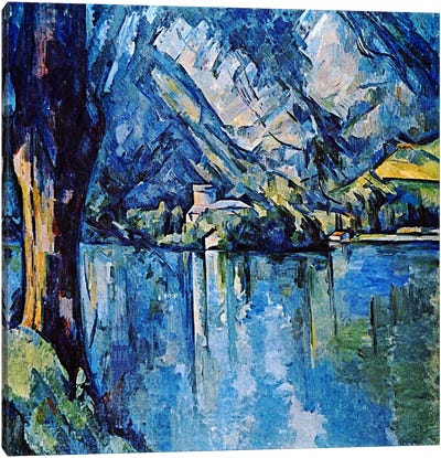 Le Lac Annecy Canvas Art Print