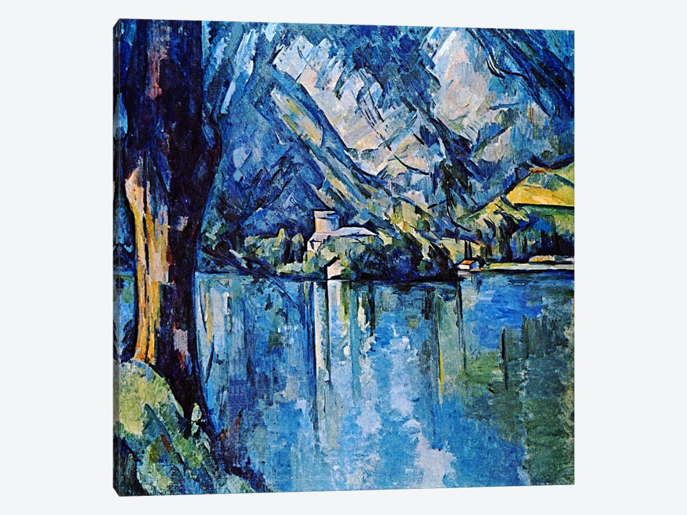 Le Lac Annecy by Paul Cezanne 1-piece Art Print