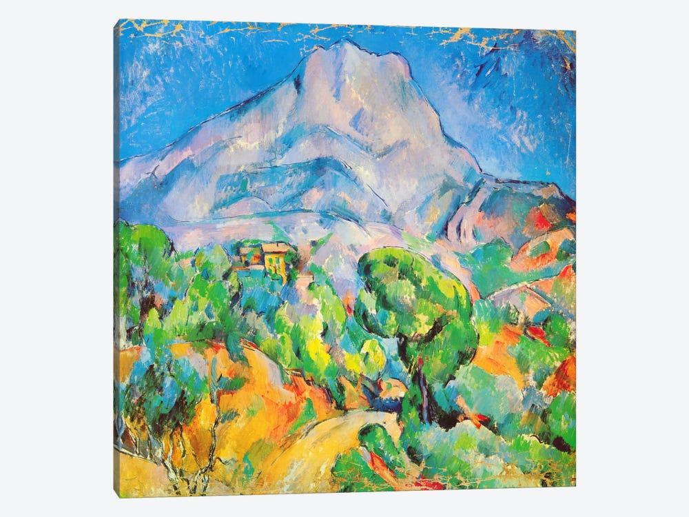 La Montagne St. Victoire by Paul Cezanne 1-piece Art Print