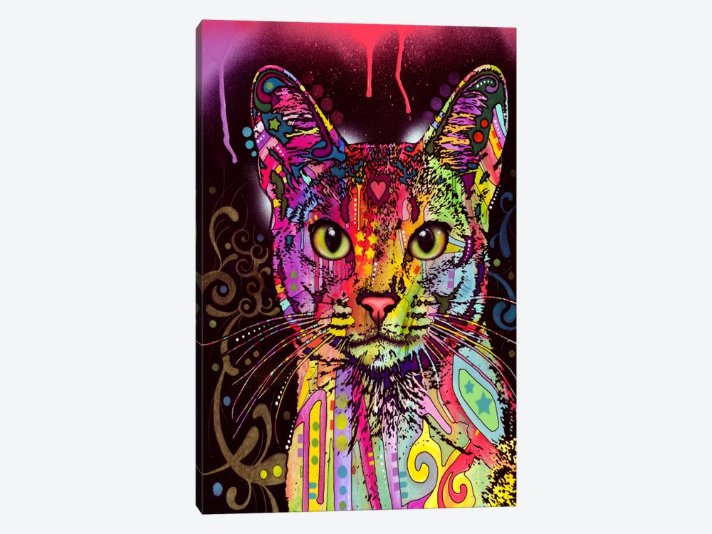 Abyssinian by Dean Russo 1-piece Canvas Wall Art