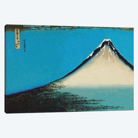 Mount Fuji Canvas Print #1352} by Katsushika Hokusai Canvas Art