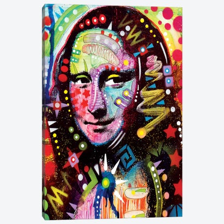 Mona Lisa Canvas Print #13532} by Dean Russo Canvas Wall Art