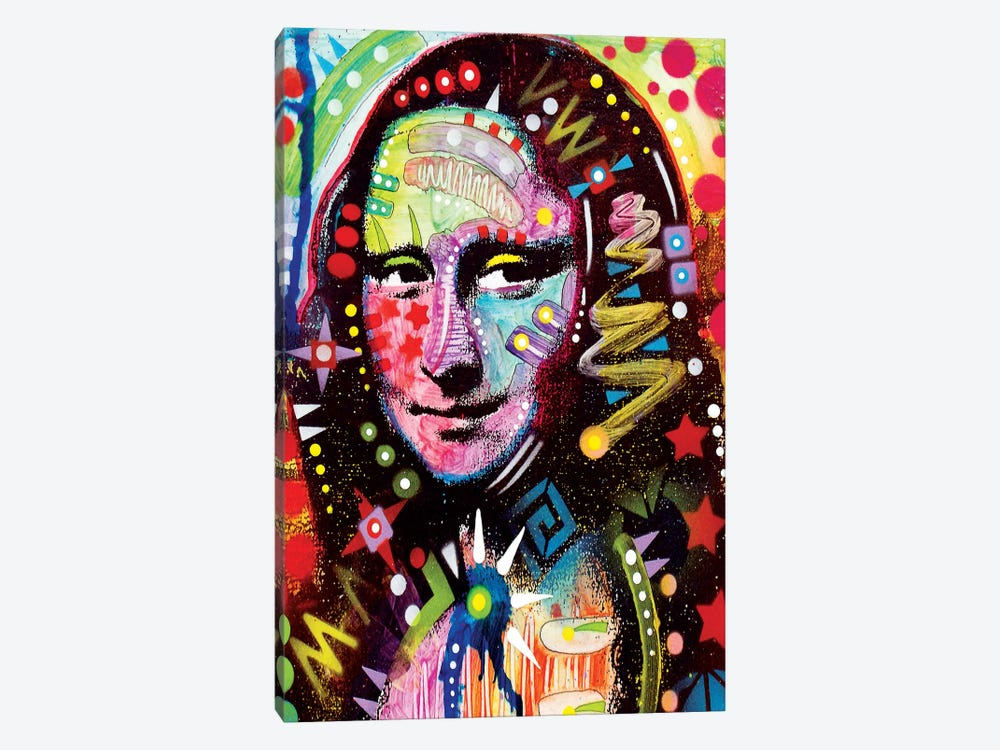Mona Lisa by Dean Russo 1-piece Art Print