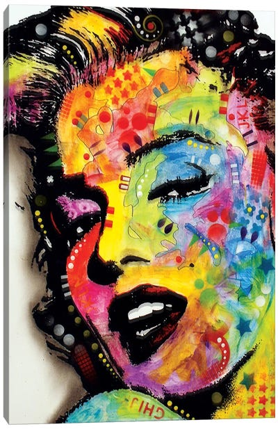 Marilyn Monroe II by Dean Russo Canvas Artwork