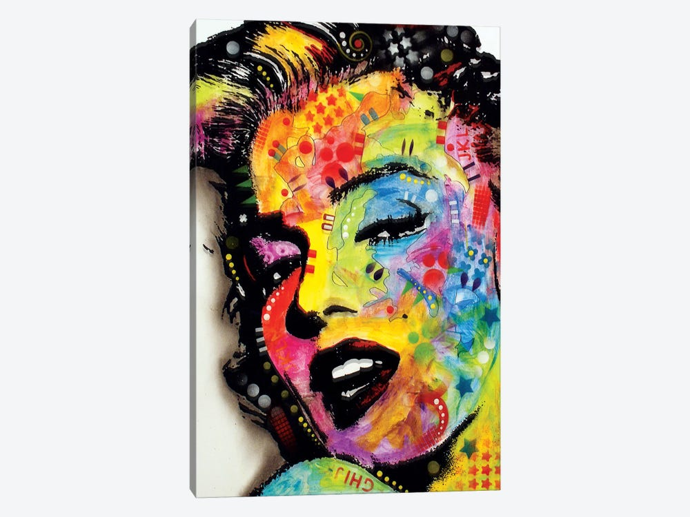 Marilyn Monroe II by Dean Russo 1-piece Canvas Art