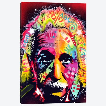 Einstein II Canvas Print #13537} by Dean Russo Canvas Art Print