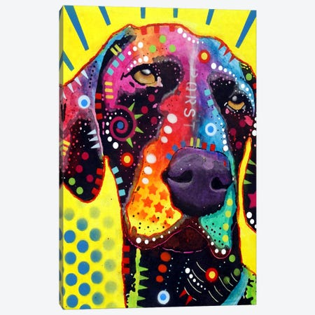 German Short Hair Pointer Canvas Print #13539} by Dean Russo Canvas Wall Art