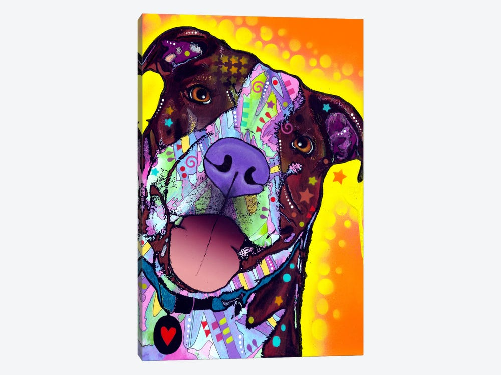 Daisy Pit by Dean Russo 1-piece Art Print