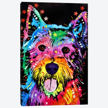 Westie Canvas Print #13543} by Dean Russo Canvas Print