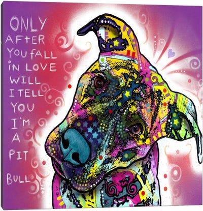 I'm a Pit Bull Canvas Print #13545